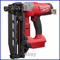 16 Gauge Electric Straight Finish Air Nailer Brushless Cordless 18V Lithium Ion