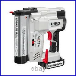 18V Cordless Electric Nail Gun Staple Stapler Nailer Grade B Used