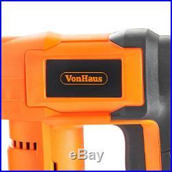 18V Heavy Duty Cordless Electric Staple Nail Gun Nailer Stapler Upholstery DIY