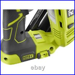 18-Volt ONE+ Lithium-Ion Cordless AirStrike 15-Gauge Angled Nailer Tool-On