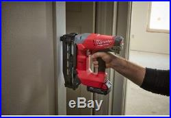 18-Volt Straight Finish Nailer Nail Gun Cordless 16-Gauge Finishing Tool New