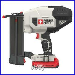 20-Volt MAX Lithium-Ion 18-Gauge Cordless Brad Nailer with Battery 1.5 Ah and