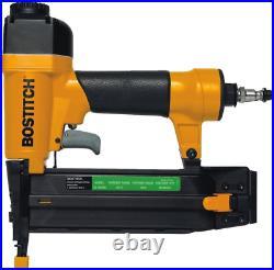 Air Tool Kit with Compressor Brad Nailer Straight Nail Gun Staple Gun Pack Kit
