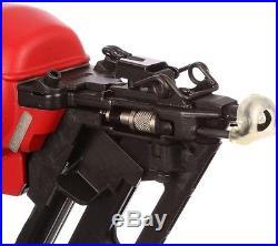 Angled Finish Nailer 15-Gauge 2 1/2 In. Air Nail Gun Finishing Trim Lightweight