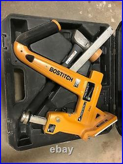 BOSTITCH MFN-201 Manual Hardwood Flooring Cleat Nailer Only! No Mallet