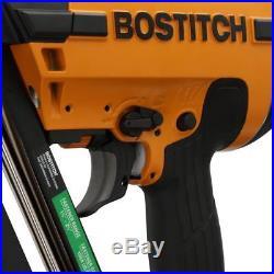 BOSTITCH N62FNK-2 15-Gauge 1 1/4 to 2-1/2 Angled Finish Nailer Nail Gun Kit