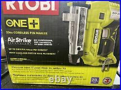 BRAND NEW Ryobi P318 23Ga Cordless Pin Nailer (Tool Only)