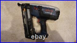 Bosch GSK 18V-LI Professional Cordless Nailer, Finish Nail Gun 18v