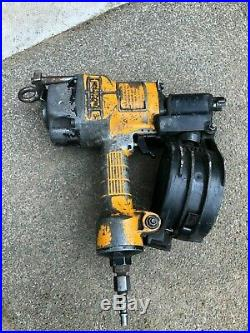 Bostitch N57c-1 Coil Nailer Used, Nail Capacity 1 to 2-1/2