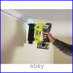 Brad Nailer 18-Gauge ONE+ Cordless Nail Gun 18-Volt With Battery and Charger