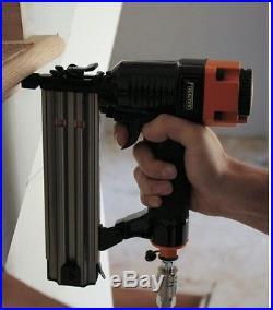 Brad Nailer Kit Air Nail Gun Cabinetry Furniture Repair Trim Work (2-Piece)