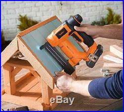Brad Nailer Stapler Kit Nail Gun Cordless 18V Li-ion Battery 18-Gauge 2 in 1 NEW