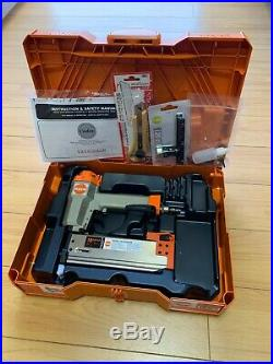 CADEX 18 GAUGE 18Ga 2 V2/18.50A BRAD NAILER NAIL GUN ORANGE With SYSTAINER CASE