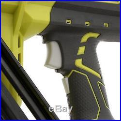 Cordless 15 Gauge Angled Finish Nailer 18V Lithium Ion Nail Gun Power Tool Bare