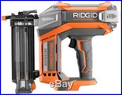 Cordless Air Brad Nailer Nail Gun Electric 18-Gauge 2-1/8 in. Brushless RIDGID