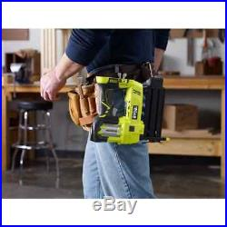 Cordless Brad Nailer 18 Gauge 18V Air Nail Gun Nails Ryobi Airstrike Bare Tool