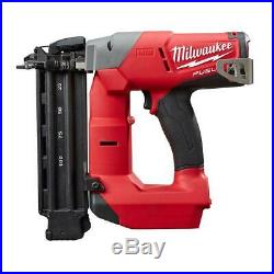 Cordless Brad Nailer Brushless 18 Volt Lithium Ion Reconditioned Milwaukee Tool