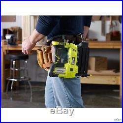 Cordless Electric Nail Gun Air Nailer Framing Tool Ryobi 18V 18-Gauge, TOOL ONLY