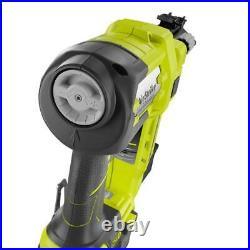 Cordless Electric Nail Gun Air Nailer Framing Tool Ryobi 18-Volt 18-Gauge