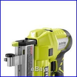 Cordless Electric Pin Nailer 23 Gauge 18 Volt Air Nail Gun Belt Clip LED Light