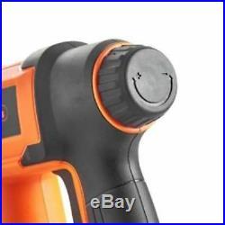 Cordless Electric Staple Nail Gun Nailer Stapler Upholstery DIY 18V Li-ion 2AH