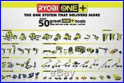 Cordless Nailer Nail Gun Angled Air Finish Trim 18V 15 Gauge Ryobi Tool Only