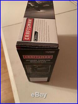 Craftsman C3 19.2V Brad Nailer cordless 5/8-2 nail gun New