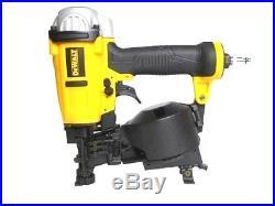 DEWALT 15 Degree Coil Roofing Nailer Nail Gun Pneumatic Staple Jobsite DWFP12658