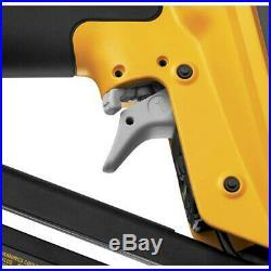 DEWALT 15-Gauge 1 in. 2-1/2 in. Angled Finish Nailer Kit D51276K New