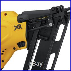 DEWALT 20V MAX XR 15 Gauge Angled Finish Nailer (Bare Tool) DCN650B new
