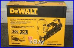 DEWALT 20V MAX XR Dual Speed 30 Degree Paper Collated Framing Nailer DCN692M1