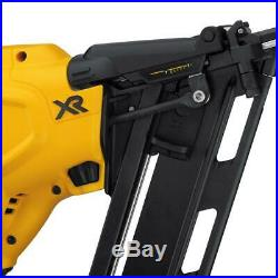 DEWALT DCN650D1 Cordless Nailer Kit with Battery and Charger New Free Ship