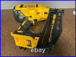 DEWALT DCN660 20V 16GA Angled Finish Nailer (Tool Only)