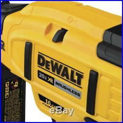 DEWALT DCN662D1 20V 16 Ga. Straight Finish Nailer Kit New