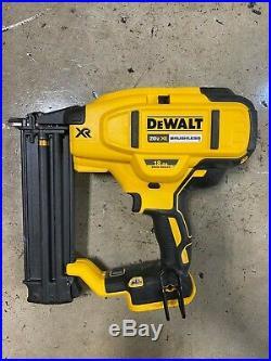 DEWALT DCN680B 20V MAX XR 18 Gauge Brad Nailer Tool Only MINT