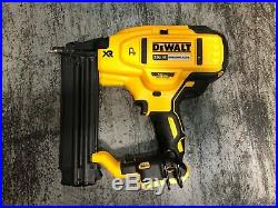 DEWALT DCN680B 20V MAX XR 18 Gauge Brad Nailer Tool Only USED (P. 1)