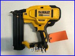 DEWALT DCN680B 20V MAX XR 18 Gauge Brad Nailer Tool Only Used