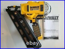 DEWALT DCN692B 20V 20 VOLT MAX Cordless 30° Paper Collated Framing Nailer NEW