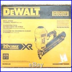 DEWALT DCN692B 20-V XR Li-Ion Cordless Brushless Framing Nailer New Bare Tool