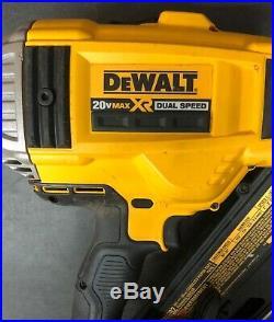 DEWALT DCN692 20V MAX XR Dual Speed Framing Nailer Tool Only