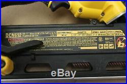 DEWALT DCN692 20-V XR Li-Ion Cordless Brushless Framing Nailer & Battery(42713)