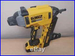 DEWALT DCN890 XR 18V Brushless Concrete Nailer + 5.0Ah Battery AH 72210