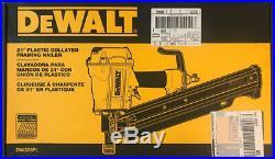 DEWALT DW325PL 3-1/4 Inch 21 Degree Plastic Collated Framing Nailer