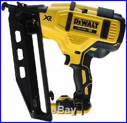 Dcn660b 20v Max 16 Ga Angled Finish Nailer Tool Only