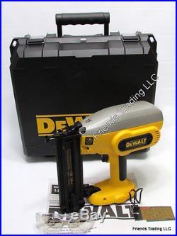 DeWALT 18V 18 Volt XRP 18 Gauge 2 Brad Nailer Nail Gun DC608 DC608B with Box