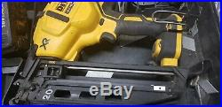 DeWALT Cordless Nailer Nail Gun 2nd Fix framing 16 Gauge 1x 4.0ah & Charger/case
