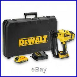 DeWALT DCN660D2 Brushless 18V Cordless Nailer 2 x 2Ah Batteries Nail Gun