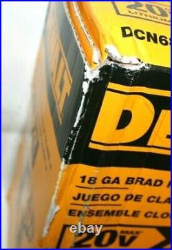 DeWALT DCN680D1 20V MAX Li-Ion XR Brushless 18 Gauge Cordless Brad Nailer Kit