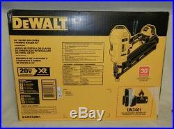 DeWALT DCN692M1 20V Max XR 30-Degree Cordless Paper Collated Framing Nailer Kit