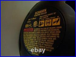 DeWalt 20V Max XR Brushless 15 Degree Coil Roofing Nailer Model# DCN45RN